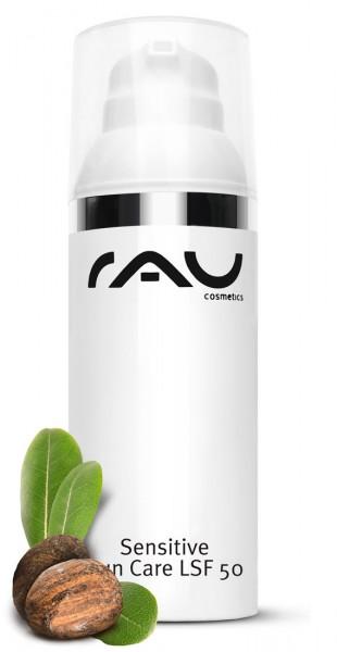 RAU Sensitive Sun Care 50 ml – ošetrujúci ochranný krém proti slnku s SPF 50