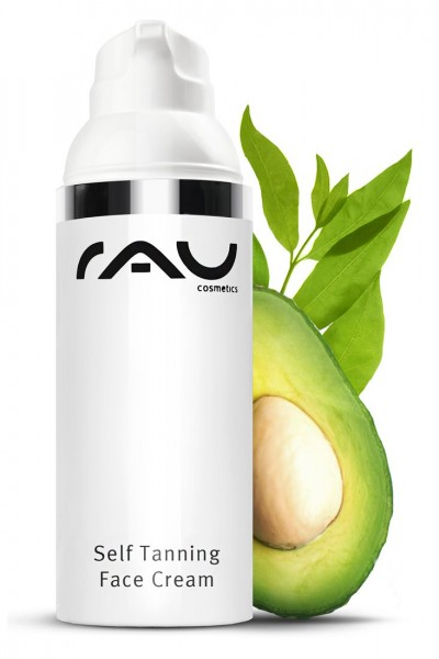 RAU Self Tanning Face Cream 50 ml – Samoopaľovací krém s UV-ochranou