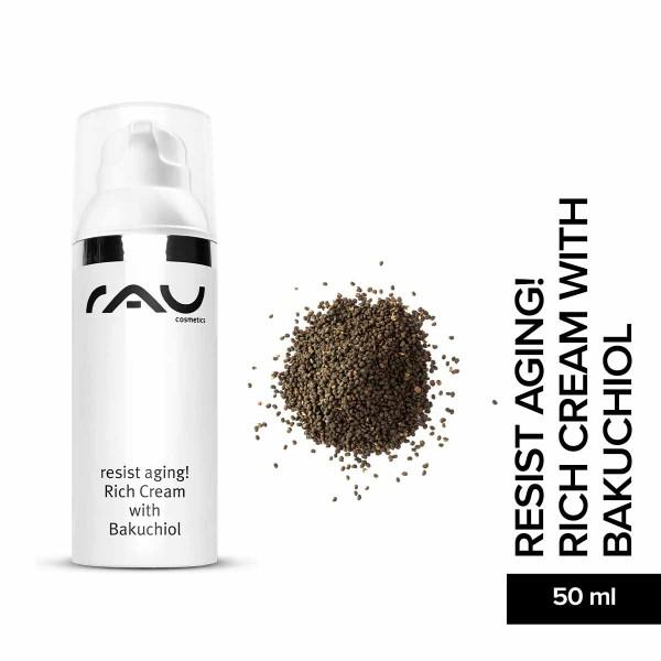 RAU resist aging! Rich Cream with Bakuchiol 50 ml – výživný denný a nočný krém