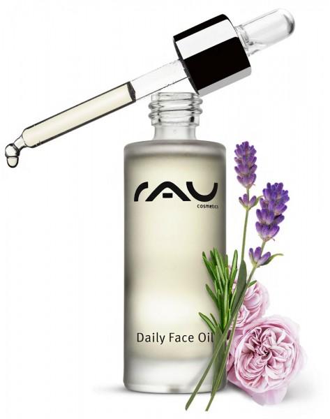 RAU Daily Face Oil 30 ml – ošetrujúci pleťový olej s vzácnymi prírodnými olejmi