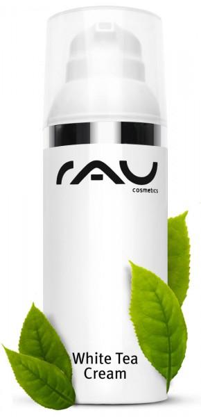 RAU White Tea Cream 50 ml – Jemný 24-hodinový krém s bielym čajom & s Aloe Vera