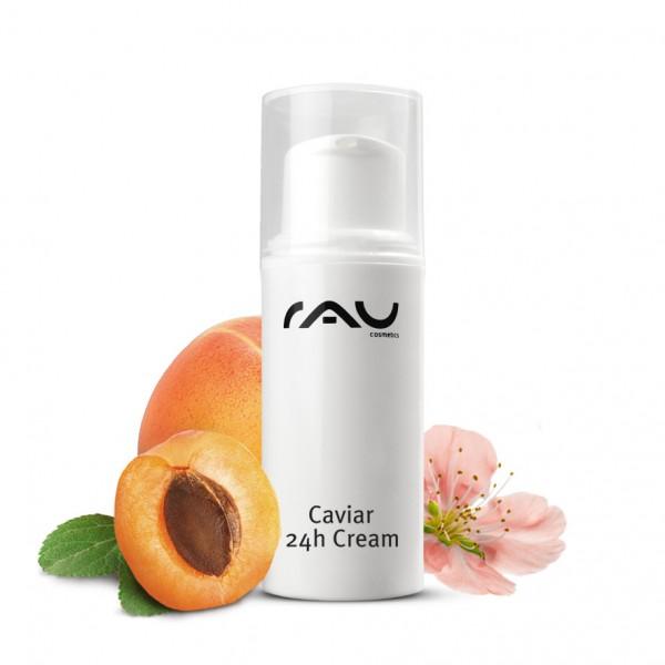 RAU Caviar 24h Cream 8 ml – učinná starostlivosť o pleť s kaviárovým extraktom