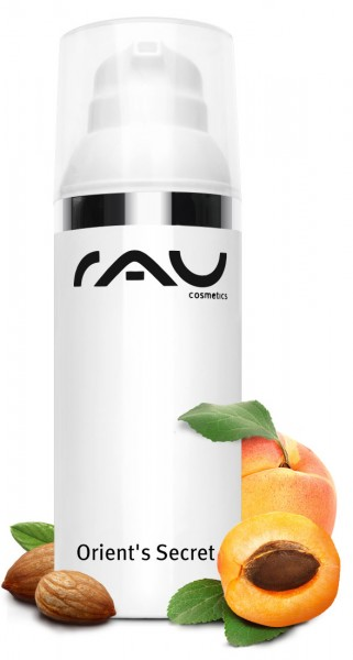 RAU Orient´s Secret 50ml - Anti-Aging starostlivosť s olejom z marhuľových semien a perlovým extrakt
