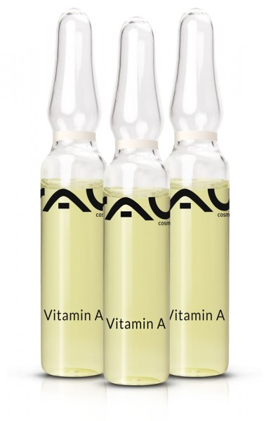 RAU Vitamín A ampuly 3 x 2 ml – komplex účinných látok – proteínov, ceramidov a panthenol
