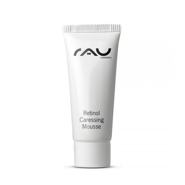 RAU Retinol Caressing Mousse 8 ml – Denný krém s vzácnymi rastlinnými olejmi, retinolom a tripeptid-
