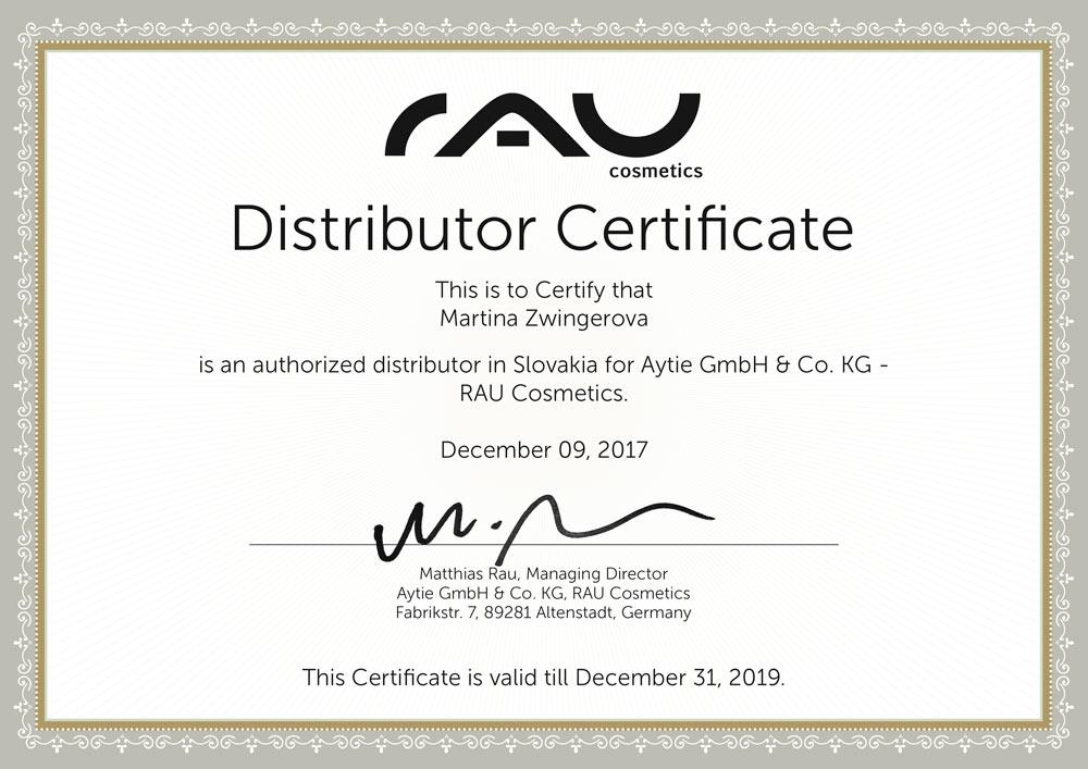 RAU-Cosmetics_distributor-certificate-Martina-Zwingerova_webxCIOWtLIh0rz7