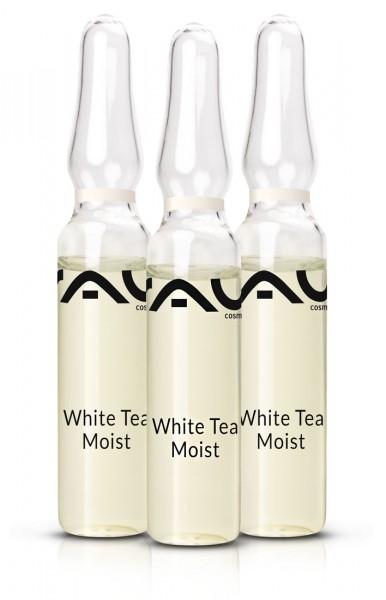 RAU White Tea Moist Ampuly 3x2 ml – efektívny hydratačný koncentrát
