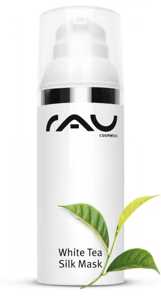 RAU White Tea Silk Mask 50 ml – s hodvábnymi proteínmi, bielym čajom, Sheabutter & prírodnými olejmi