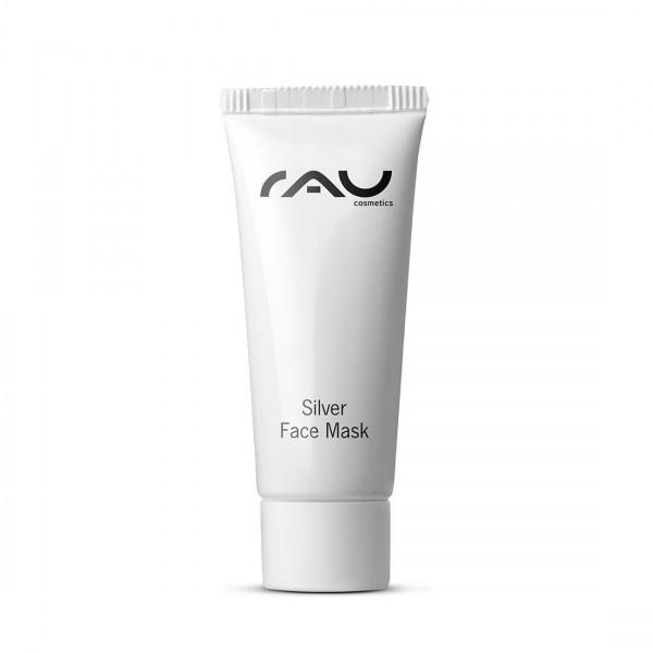 RAU Silver Face Mask 8 ml - Upokojujúca krémová maska s mikrostriebrom BG™