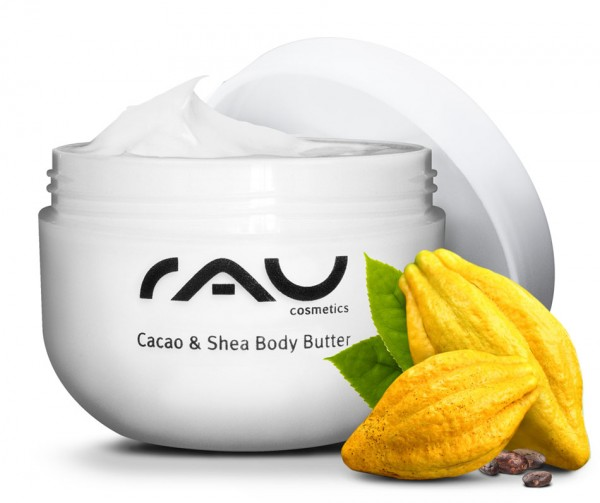 RAU Cacao & Shea Body Butter 200 ml – pre výnimočne jemnú a zamatovú pokožku