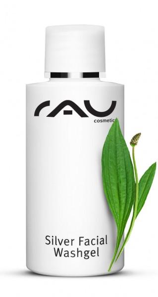 RAU Silver Facial Washgel 50 ml – Gél na čistenie pleti s mikrostriebrom & skorocelom