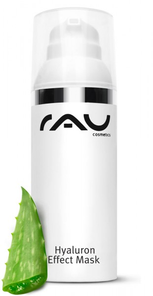 RAU Hyaluron Effect Mask 50 ml - s kyselinou hyaluronovou & Aloe Vera RAU Hyaluron Effect Mask 50 ml - s kyselinou hyaluronovou & Aloe Vera