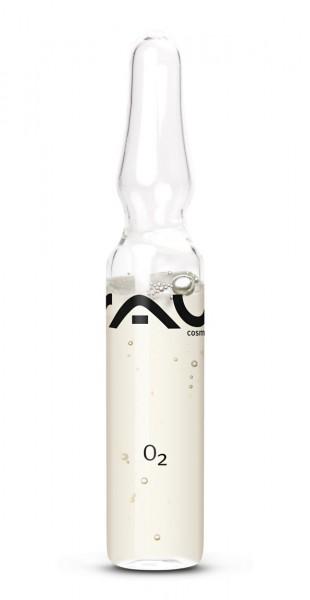 RAU O2 Ampuly 3 x 2 ml – koncentrát krásy pre svieži vzhľad