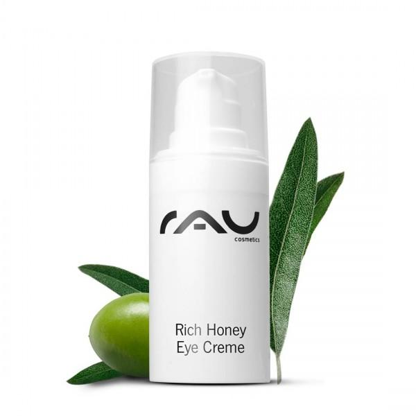 RAU Rich Honey Eye Cream 15 ml – pre žiarivú pokožku okolo očí v každom veku