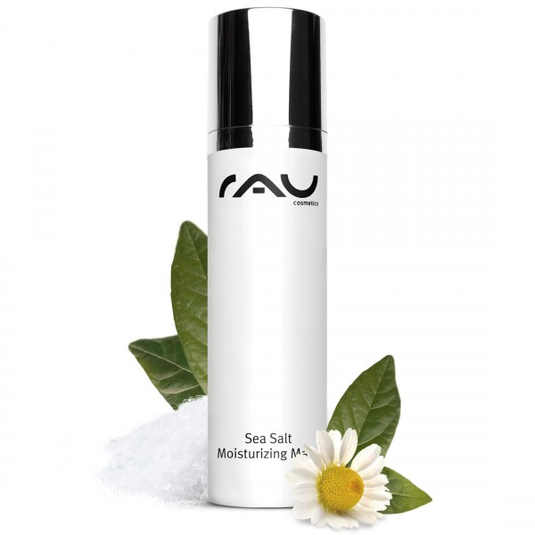 RAU Sea Salt Moisturizing Mask 50 ml – príjemná maska s morskou soľou a kyselinou laktobionovou