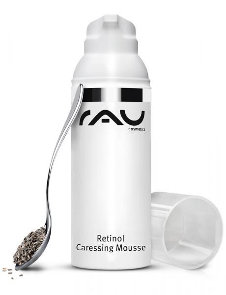RAU Retinol Caressing Mousse 50 ml – Denný krém s vzácnymi rastlinnými olejmi, retinolom a tripeptid