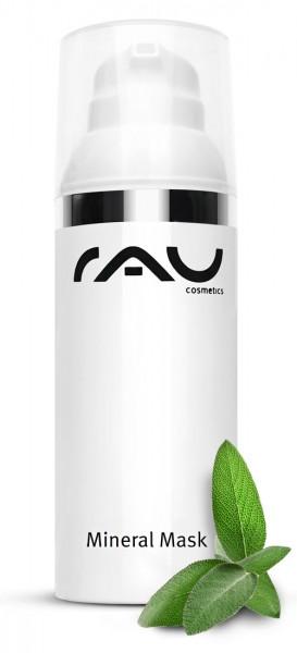 RAU Mineral Mask 50 ml – Zmatňujúca maska na tvár so zinkom a hojivou kriedou pre nečistú pleť