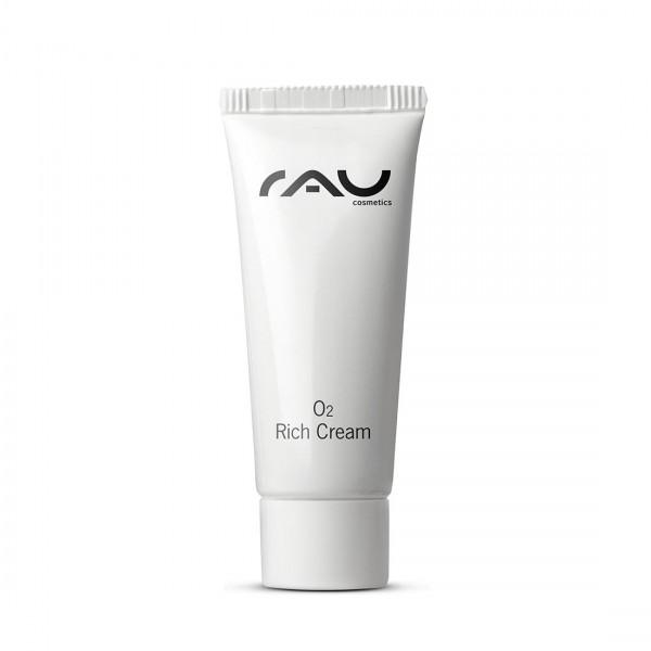 RAU O2 Rich Cream 8 ml – Výživný krém s aloe vera, ginkgom a slnečnicovým olejom