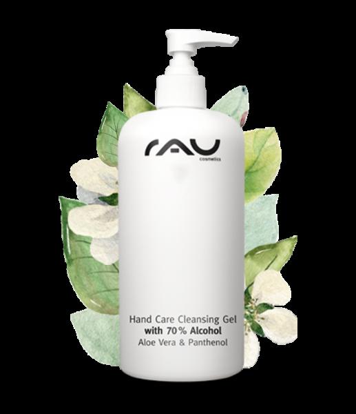 RAU Hand Care Cleansing Gel 500 ml – Dezinfekčný gél 70% alkohol, aloe vera, jojoba a panthenol