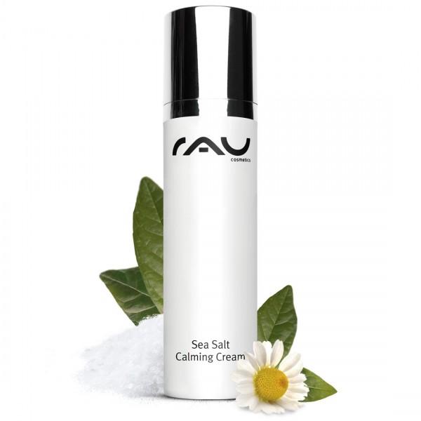 RAU Sea Salt Calming Cream 50 ml – príjemný krém na tvár s morskou soľou a kyselinou laktobionovou