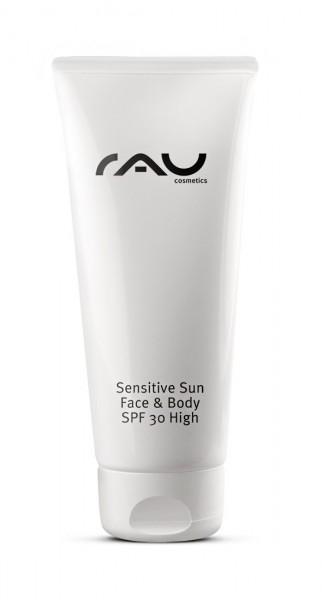 RAU Sensitive Sun Face & Body SPF 30 - 75 ml – ošetrujúci opaľovací krém s vitamínom E